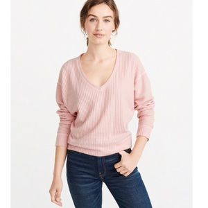Abercrombie & Fitch Cozy Sweater Knit Tee